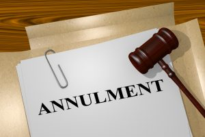 What are the legal grounds for annulment?