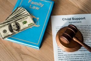 How can I make sure that child support is calculated according to my income?
