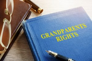 What are some key considerations in determining if grandparents get visitation?