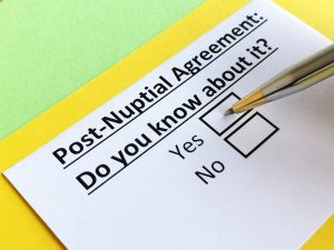 What Are the Key Differences Between a Marriage Settlement, Postnuptial, and Marital Separation Agreement in NJ?