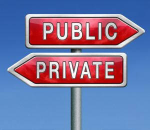 How to Determine Public or Private Expenses?