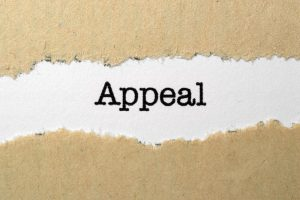 What Is the Process For an Appeal?