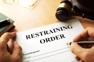 Is a restraining order necessary in order to safeguard the victim's safety?