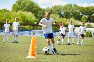 Support kids by keeping normal routines and staying active in their lives